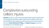 Complexities surrounding Lisfranc injuries